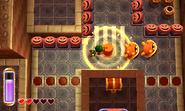 Link usando el martillo ALBW