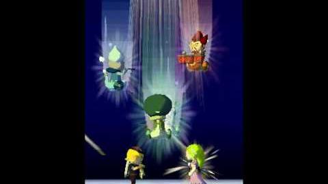 The Legend of Zelda Spirit Tracks Walkthrough -Final Boss Malladus, The Demon King; Ending- Part 56
