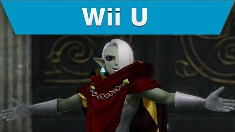 Wii U -- Hyrule Warriors Trailer with Ghirahim and a Demon Blade