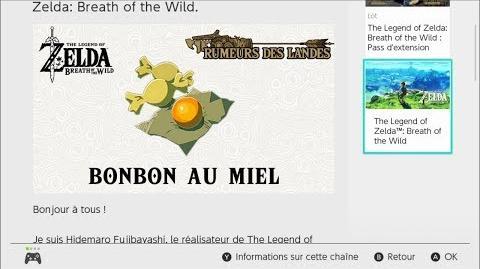 Zelda BOTW Rumeurs des Landes - BONBONS AU MIEL gameplay