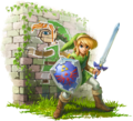Link Artwork (A Link Between Worlds)