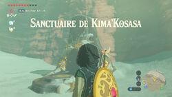 Sanctuaire de Kima'Kosasa BOTW