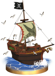 Bateau Pirate de Tetra Trophée SSBB