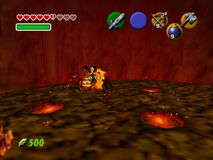 Legend of Zelda, The - Ocarina of Time (E) (M3) (V1.1) snap0585