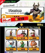 Trofeo del Espectro en SSB4 (3DS)