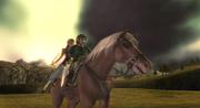 Zelda, Link et Epona TP