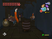 Link en un Barril