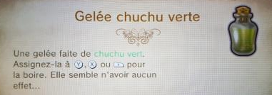 Description Gelée Chuchu Verte TPHD
