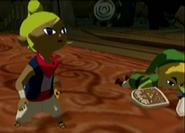 Tetra y Link se enfrentan a Ganondorf