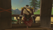 Breath of the Wild Brazen Beak Snowquill Tunic (Rito Village)