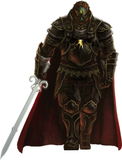 Ganondorf Artwork TPHD