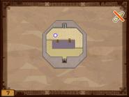 Mapa de la séptima planta del Templo de los Mares ST