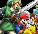 Personnages jouables des Super Smash Bros.