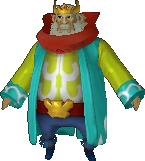 Roi d'Hyrule costume mers HWL
