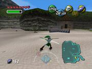 Zora-Link kämpft