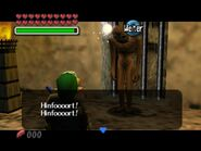 Gibdo (als Zombie) spricht mit Link