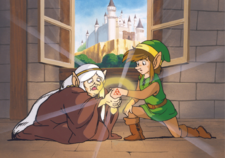 Impa en Adventure of Link