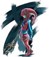Mipha Artwork (Breath of the Wild)