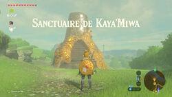Sanctuaire de Kaya'Miwa BOTW