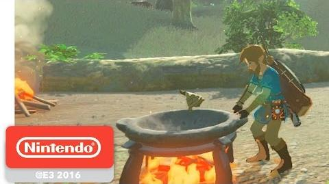 The Legend of Zelda Breath of the Wild - Chasse et Cuisine - E3 2016