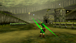 Link vs Arwing OoT
