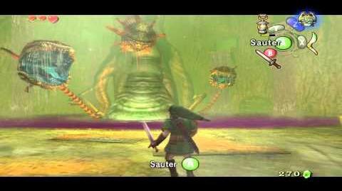 Dionéa Boss du temple Sylvestre (Zelda Twilight Princess) HQ