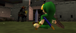 Ganondorf et Link 3 OoT