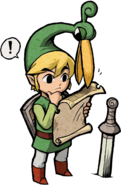 Link Artwork 8 (The Minish Cap)