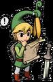Link Artwork 8 (The Minish Cap)