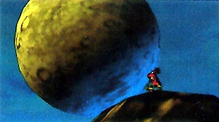 File:Majora's Mask Beta Moon & Skull Kid (Early Screenshot).png