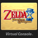 Icono The Legend of Zelda Phantom Hourglass Consola Virtual Wii U