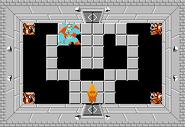 Link y Ganon en el Nivel 9 TLoZ