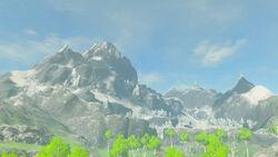 Montagne lanelle BOTW