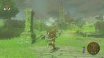 Link Temple Ruines BOTW