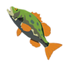 Breath of the Wild Fish (Bass) Hyrule Bass (Icon)