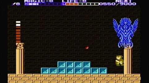 Zelda the adventure of link - Boss 7 Thunderbird