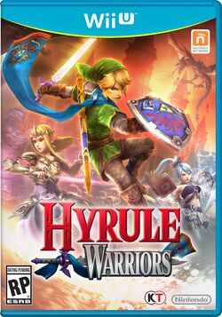 Hyrule Warriors box art Europe
