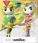 Embalaje americano del pack de amiibo de Toon Link y Zelda (The Wind Waker) - Subserie 30 aniversario