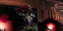 Ganondorf dispuesto a atacar HW