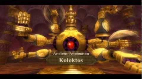 Legend of Zelda Skyward Sword - Boss Ancient Automaton Koloktos HD