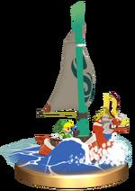 Link y Mascarón Rojo Trofeo SSBB