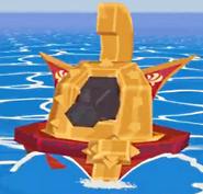 Navire de Guerre or