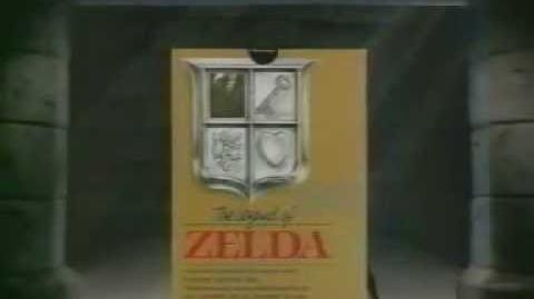 Pub française de The Legend of Zelda (NES)