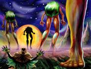 Quatre Géants Skull Kid MM