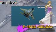 Aspecto de Zelda del F-15SE - Ace Combat Assault Horizon Legacy +