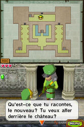 Passage secret château d'Hyrule ST