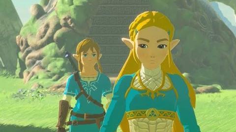 The Legend of Zelda - Breath of the Wild La colère de Zelda (Souvenir 5)