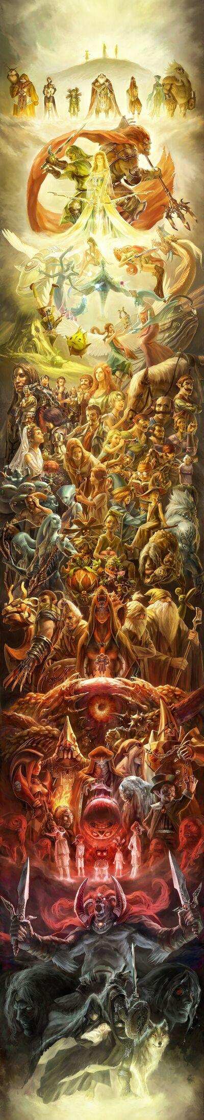 Zelda Collage