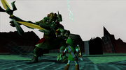 Link vs. Ganon (Ocarina of Time)