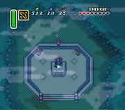 Link zieht das Master-Schwert (A Link to the Past )